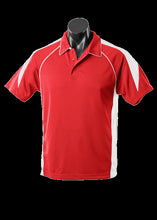 Load image into Gallery viewer, Kids Premier Polo Red/White