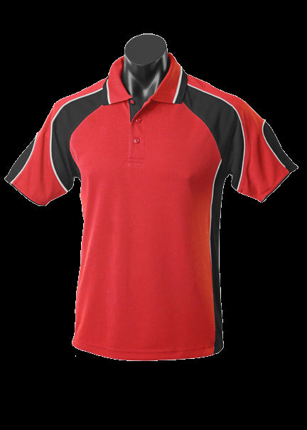Kids Murray Polo Red/Black