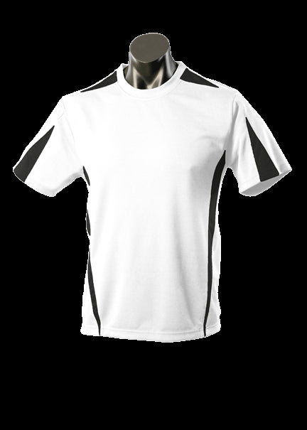 Mens Eureka Tee White/Black