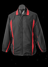 Load image into Gallery viewer, Adults Eureka Track Top Black/Red
