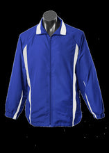 Load image into Gallery viewer, Adults Eureka Track Top Royal/White
