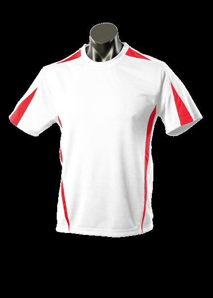 Kids Eureka Tee White/Red