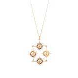 Starburst Collective Necklace | Gold