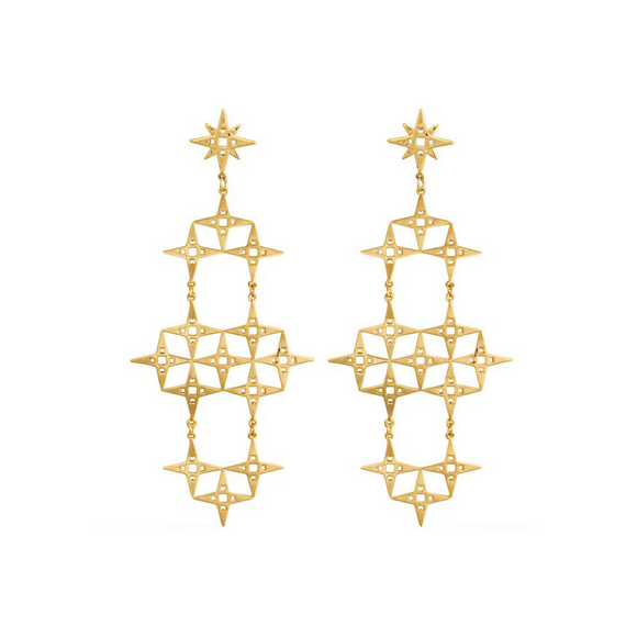 The North Star Earrings | Gold - SOLD OUT!