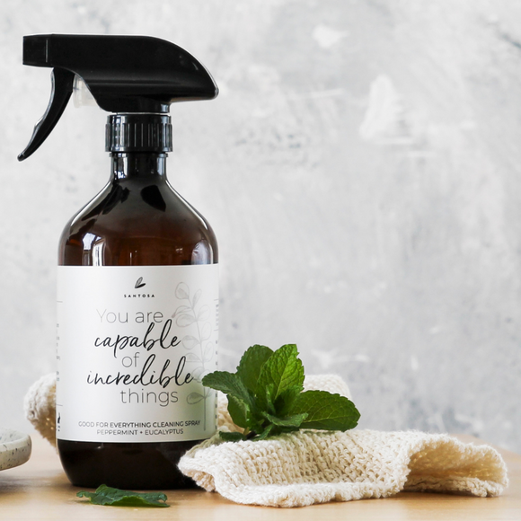 Peppermint + Eucalyptus Good For Everything Cleaning Spray