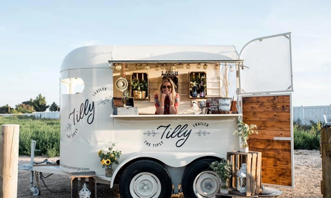 Tilly Trailer Mobile Bar
