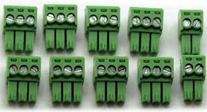8-Relay connector plugs