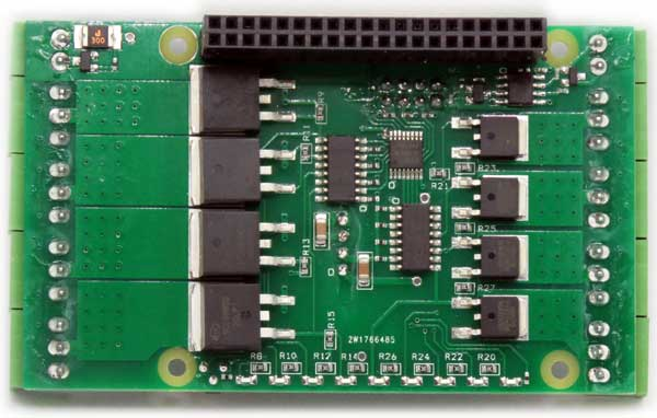 8-Mosfets for Raspberry Pi