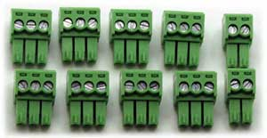 RTD Card Pluggable Connectors