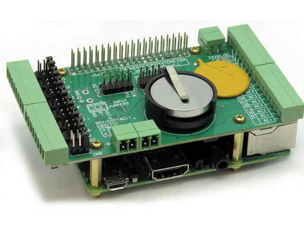 Building Automation Card for Raspberry Pi