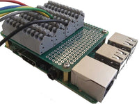 Spring Loaded Breakout Card for Raspberry Pi
