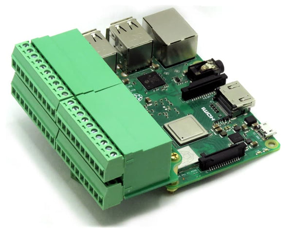 Pluggable Breakout Card for Raspberry Pi