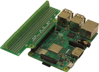 Screw-mount Breakout Card for Raspberry Pi