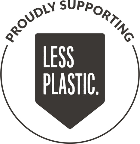 Green Swing Limited proudly supports Less Plastic