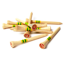 Load image into Gallery viewer, Limited Edition 70mm Bamboo Golf Tees