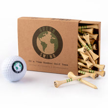 Load image into Gallery viewer, 70mm Bamboo Golf Tees