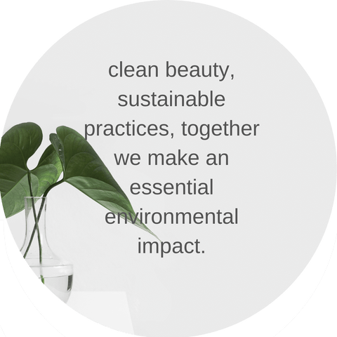 clean sustainable beauty at pretty face co