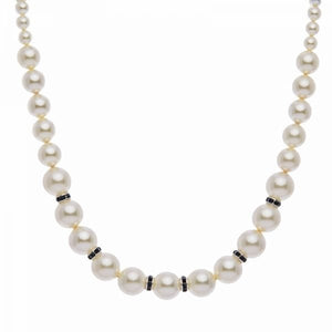Park Avenue Pearl Necklace – Cream Pearl