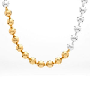 Shine Necklace – Silver & Gold
