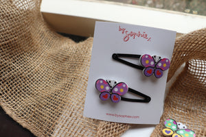 Open image in slideshow, butterfly clip sets