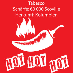 Tabasco Chiliflocken 200 g - 60.000 Scoville