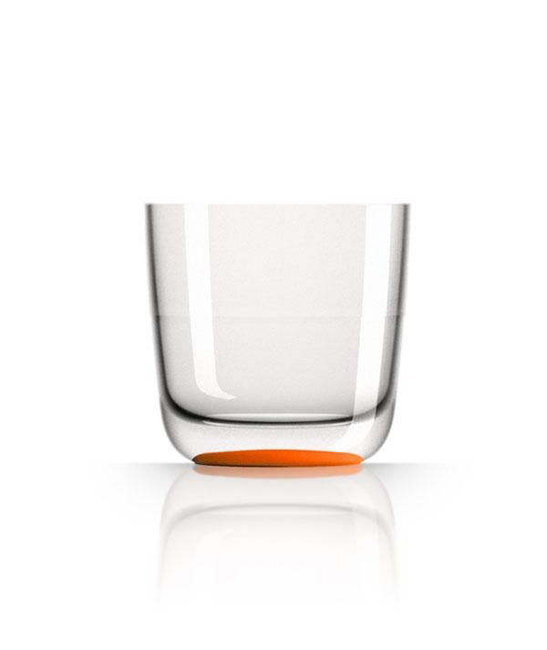 Marc Newson Tritan® Non-slip Forever Unbreakable Whisky/Stemless Wine 285ml (Set of 2)