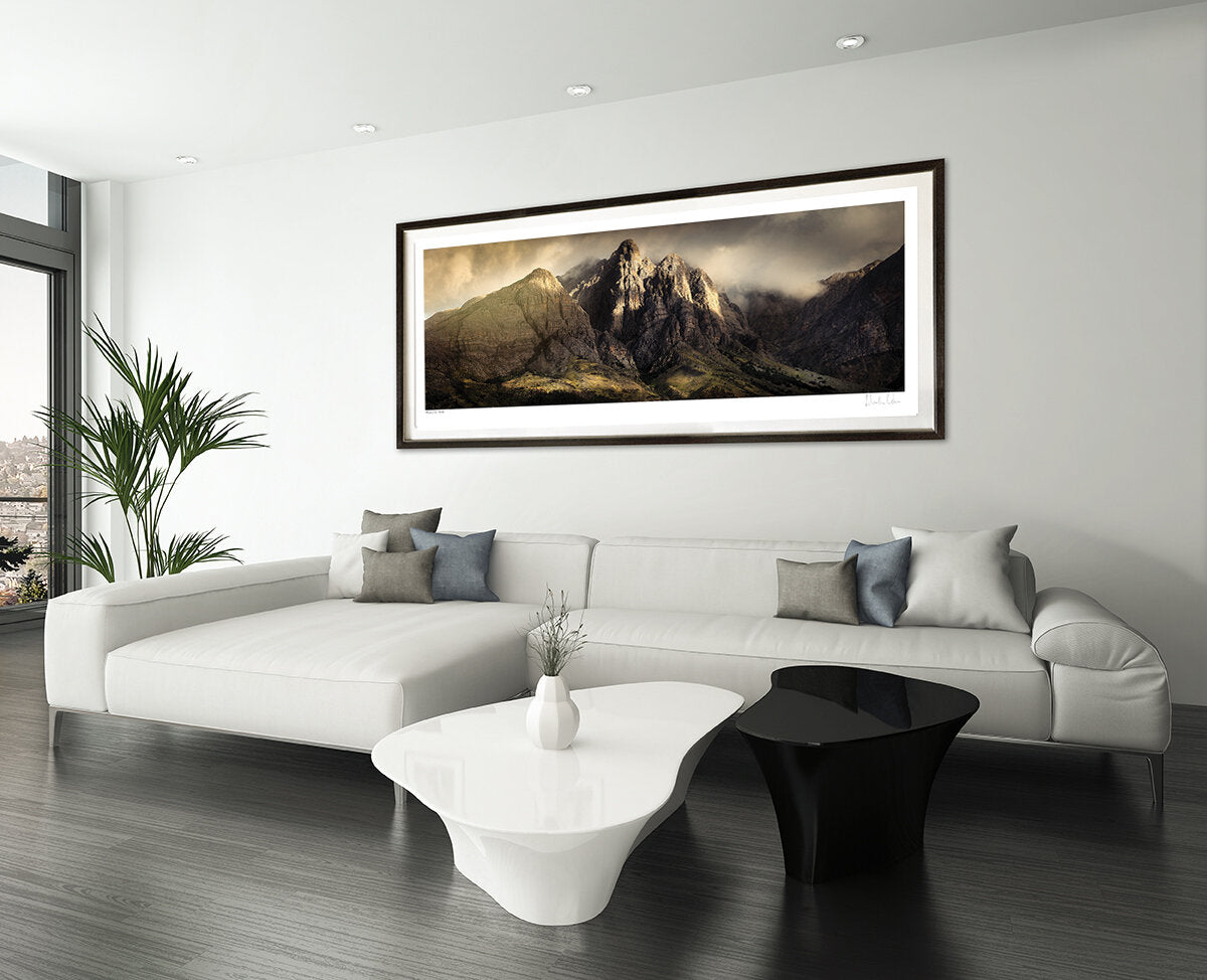Majestic Peak by Martin Osner seen in a modern interior.