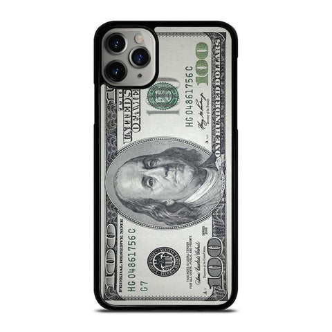 $100 DOLLAR BILL MONEY-iphone-11-pro-max-case-cover
