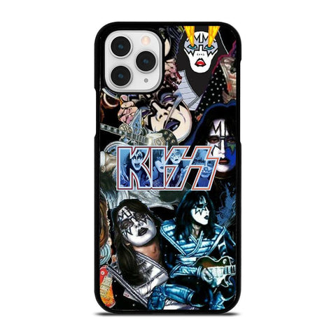 ACE FREHLEY KISS BAND COLLAGE-iphone-11-pro-case-cover
