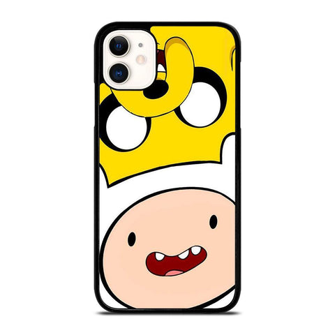 ADVENTURE TIME FACE-iphone-11-case-cover