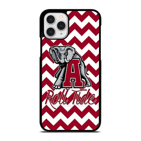 ALABAMA CRIMSON TIDE STRIP ROLL-iphone-11-pro-case-cover