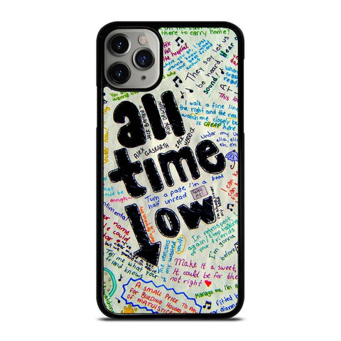 ALL TIME LOW COLOUR-iphone-11-pro-max-case-cover