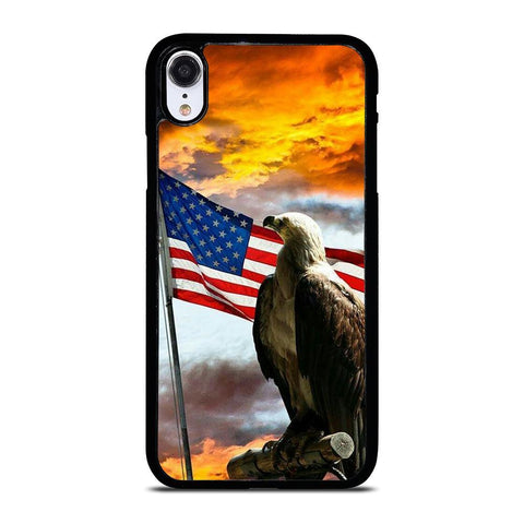AMERICAN EAGLE FLAG iPhone XR Case Cover