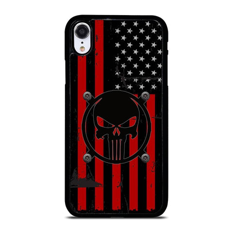AMERICAN PUNISER FLAG iPhone XR Case Cover