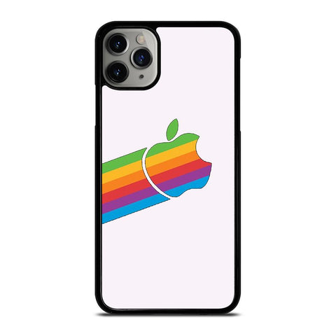APPLE RETRO DESIGN WHITE-iphone-11-pro-max-case-cover