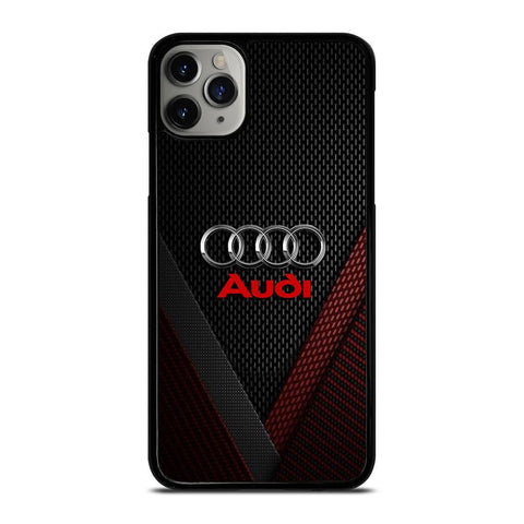AUDI METAL LOGO-iphone-11-pro-max-case-cover