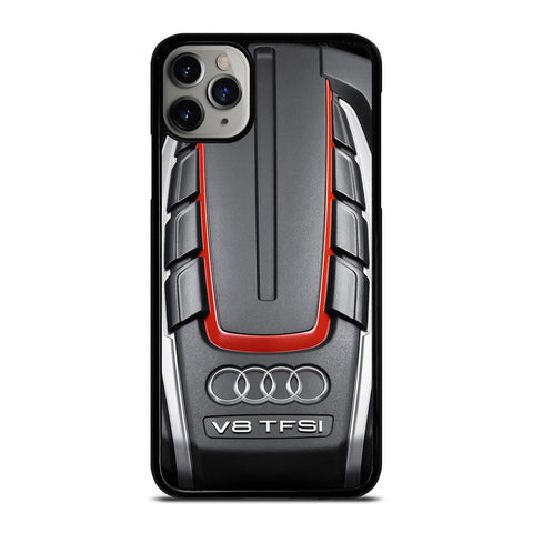 AUDI S6 TWIN TURBOCHARGED ENGINE-iphone-11-pro-max-case-cover