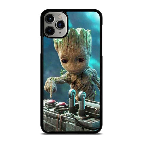 BABY GROOT GUARDIAN OF THE GALAXY-iphone-11-pro-max-case-cover