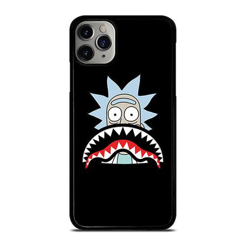 BAPE SHARK RICK AND MORTY iPhone 11 Pro Max Case Cover