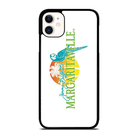BEACH JIMMY BUFFETS MARGARITAVILLE LOGO-iphone-11-case-cover