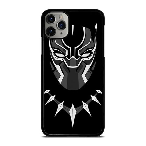 BLACK PANTHER CARTOON-iphone-11-pro-max-case-cover