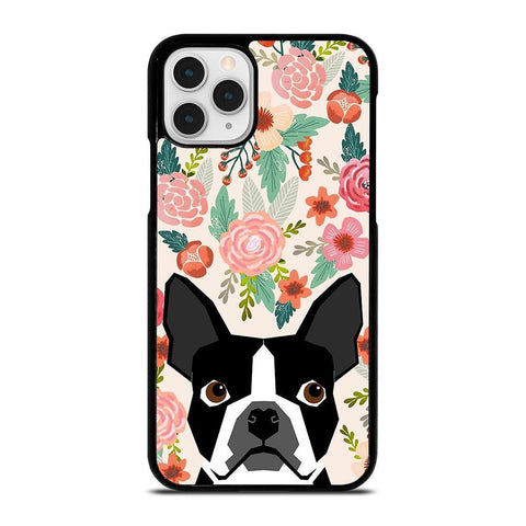 BOSTON TERRIER DOG BREED-iphone-11-pro-case-cover