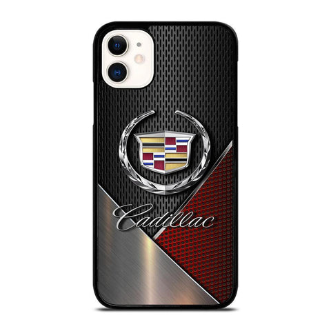 CADILLAC LOGO METAL-iphone-11-case-cover
