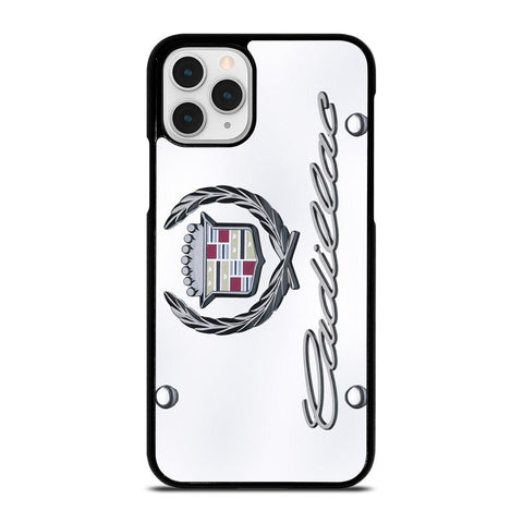 CADILLAC OLD PLATE LOGO-iphone-11-pro-case-cover