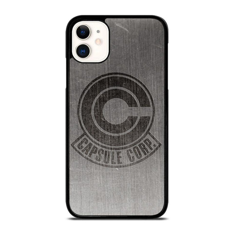 CAPSULE CORP METAL LOGO DRAGON BALL Z -iphone-11-case-cover