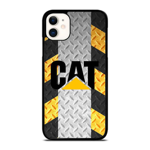 CATERPILLAR CAT PLATE LOGO-iphone-11-case-cover