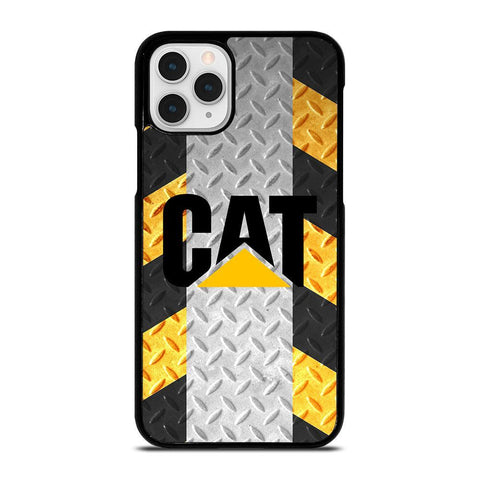 CATERPILLAR CAT PLATE LOGO-iphone-11-pro-case-cover