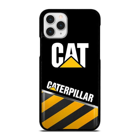 CAT CATERPILLAR STRIPE LOGO-iphone-11-pro-case-cover