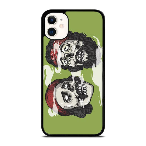 CHEECH AND CHONG SKULL-iphone-11-case-cover
