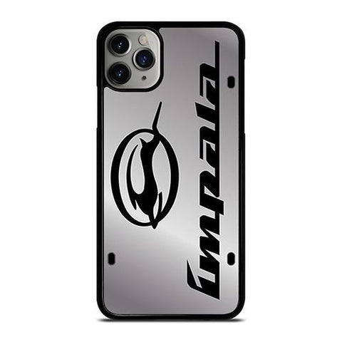 CHEVY CHEVROLET IMPALA PLATE  iPhone 11 Pro Max Case Cover